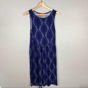 JOE FRESH blue boho sleeveless sundress